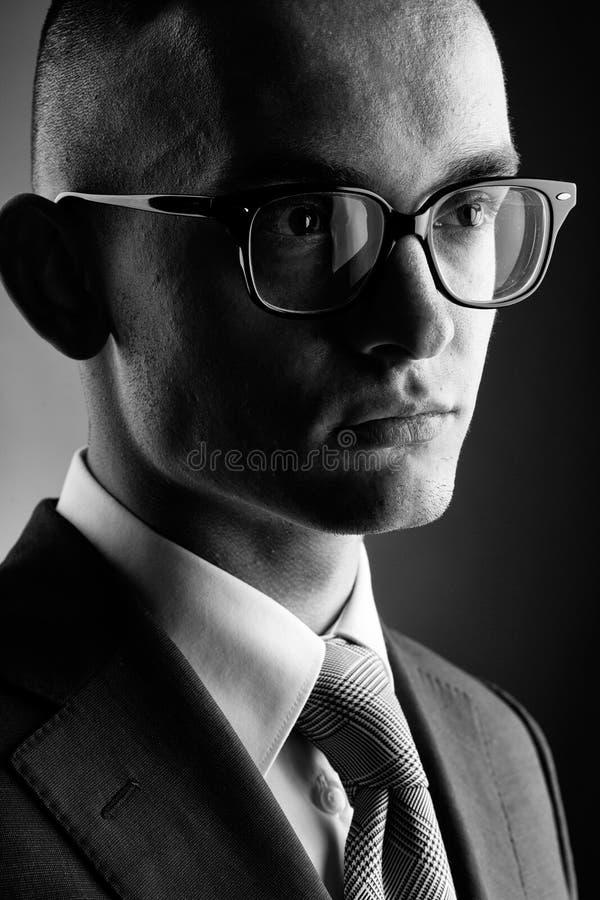 Giovane uomo d'affari bello del tipo immagini stock