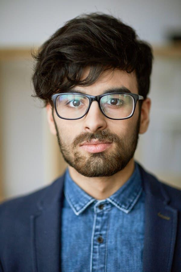 Giovane uomo d'affari creativo fotografie stock libere da diritti