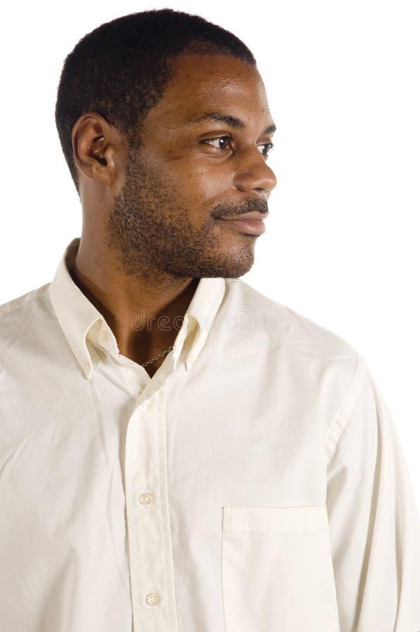 Giovane uomo di colore bello fotografie stock