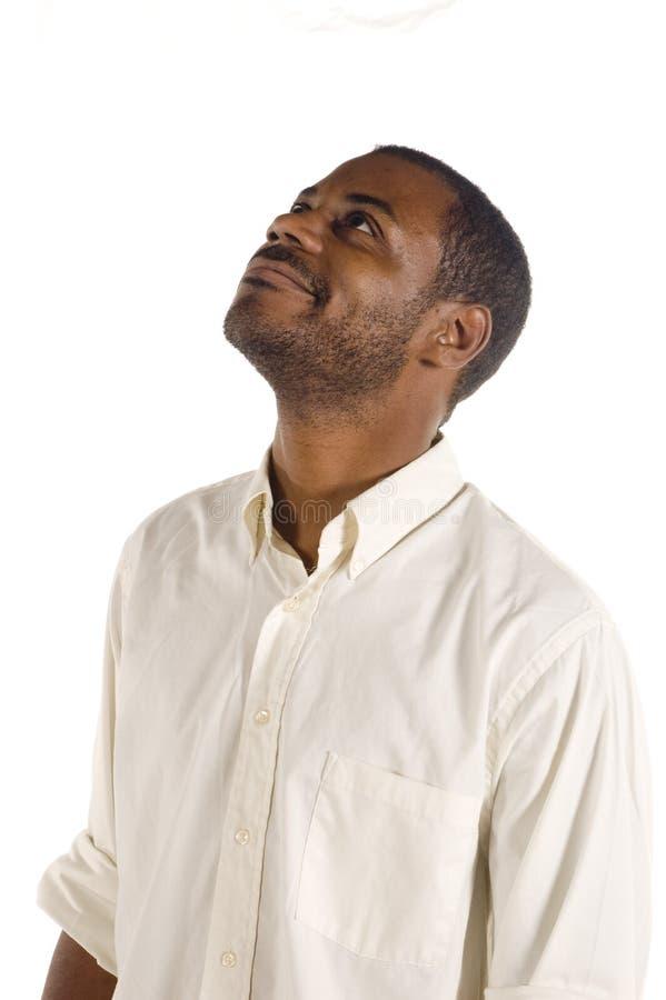 Giovane uomo di colore bello immagine stock libera da diritti