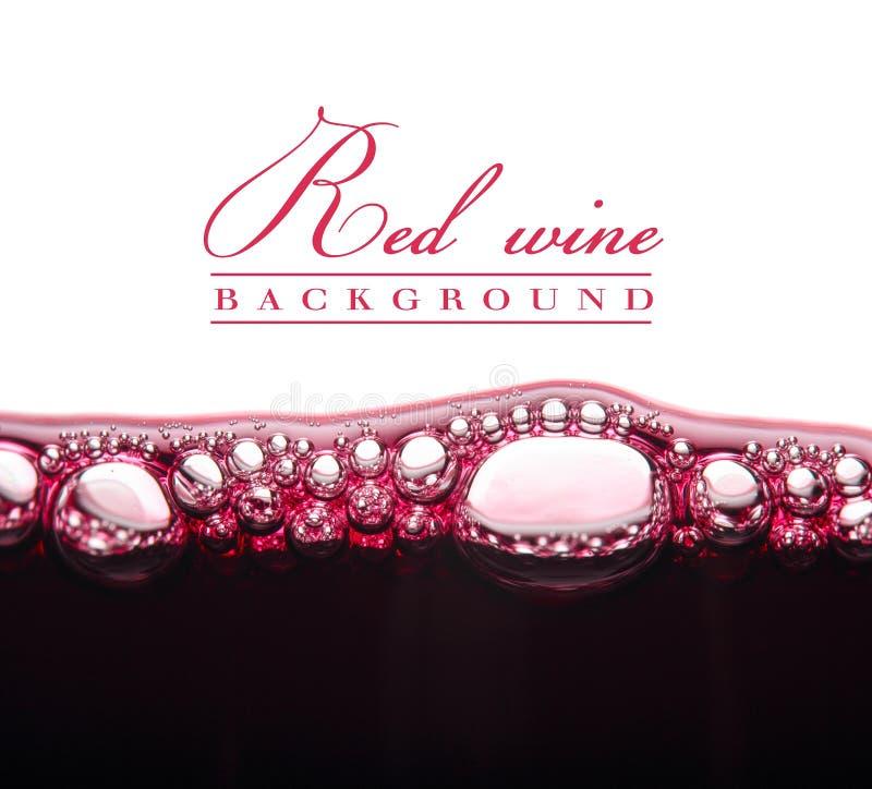 Giovane vino rosso fotografie stock libere da diritti