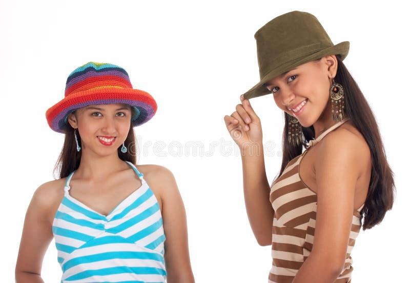 Giovani amiche fotografie stock libere da diritti