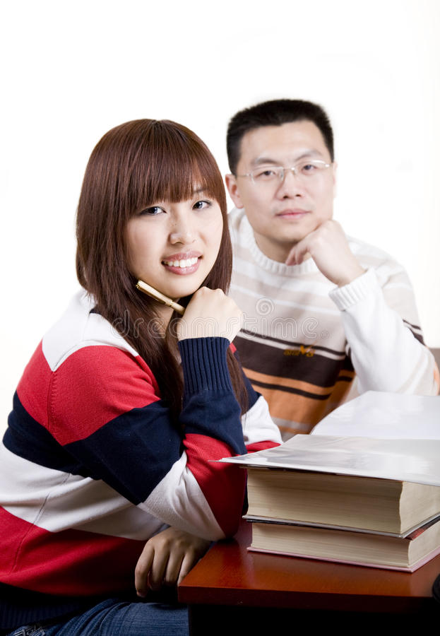 Giovani asiatici fotografie stock