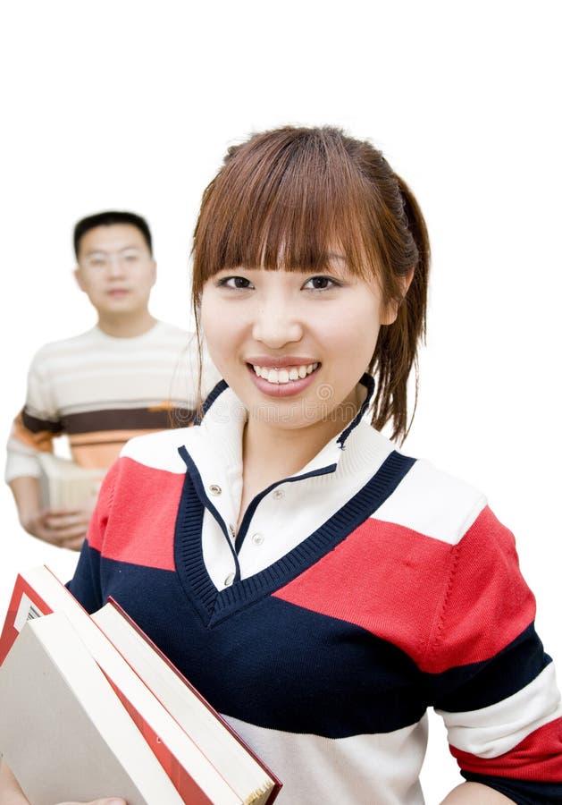 Giovani asiatici fotografia stock
