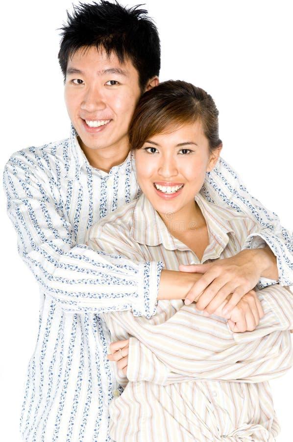 Giovani coppie fotografie stock libere da diritti