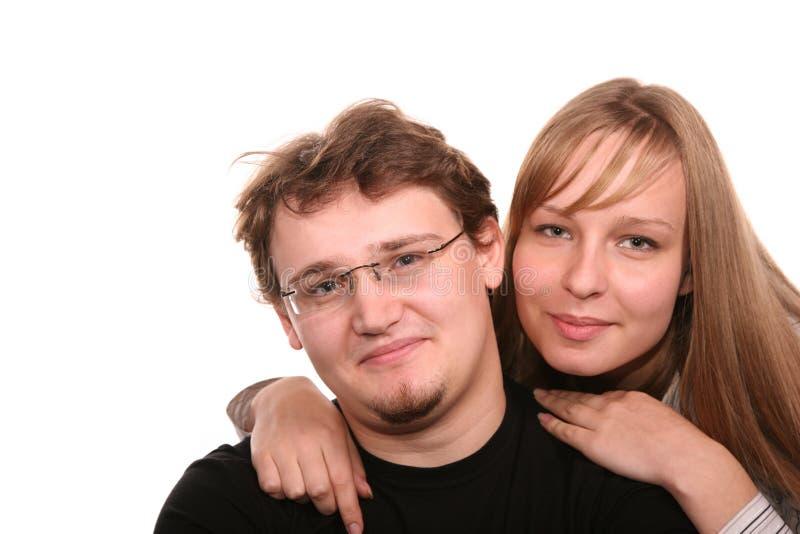 Giovani coppie fotografie stock