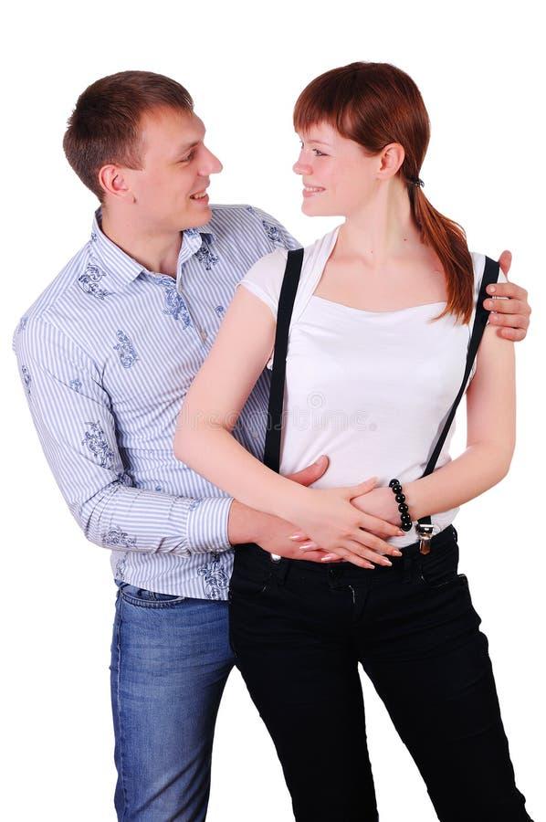 Giovani coppie affascinanti immagini stock