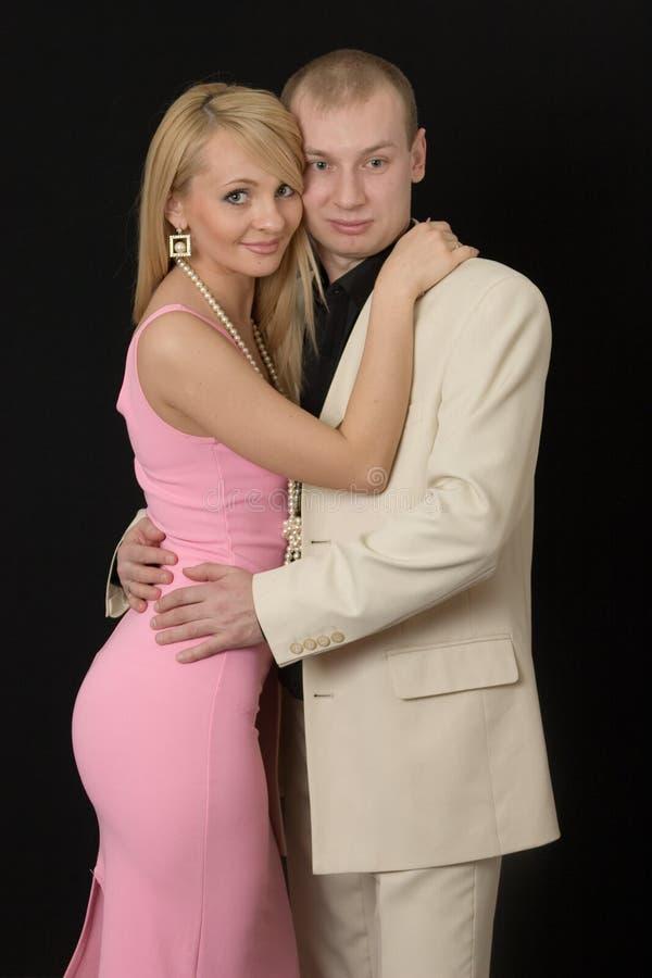 Giovani coppie felici. fotografia stock