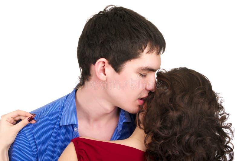 Giovani coppie sveglie fotografie stock libere da diritti