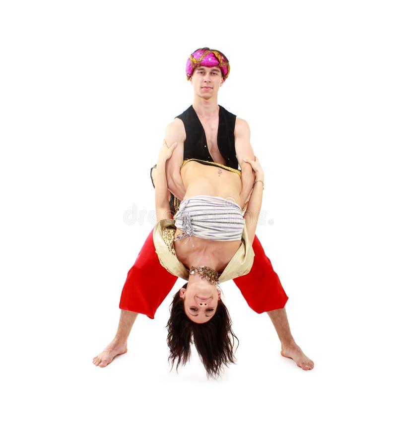 Giovani danzatori fotografie stock libere da diritti