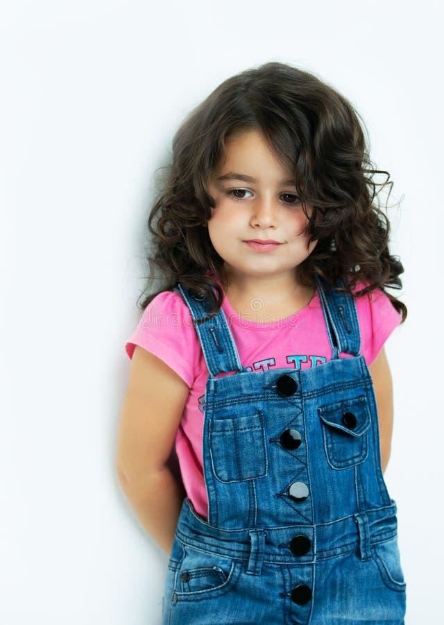 Giovani del ritratto, bambina fotografia stock libera da diritti