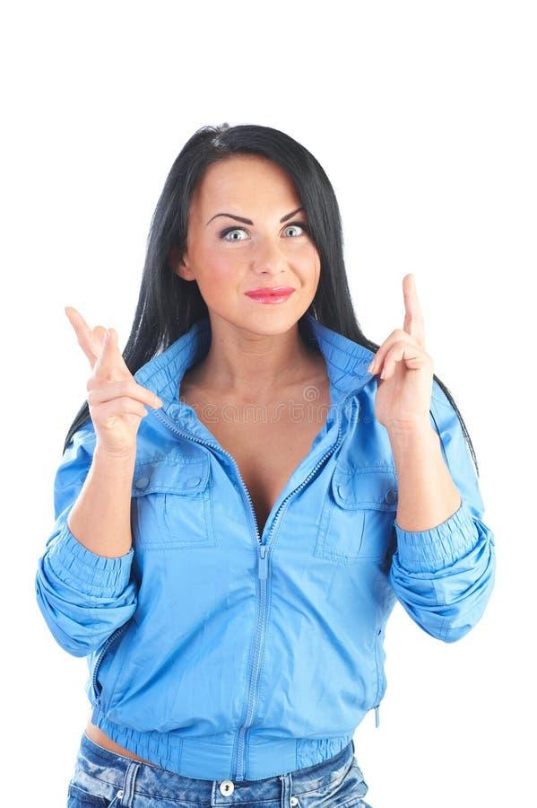 Giovani donne allegre fotografie stock libere da diritti