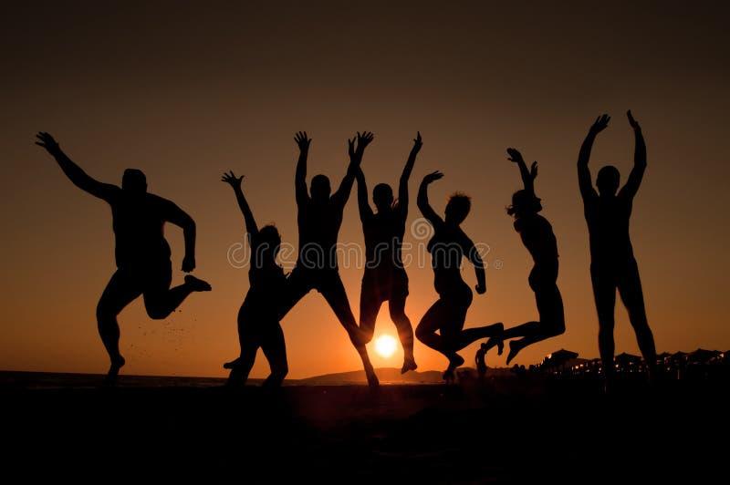 Giovani felici immagini stock