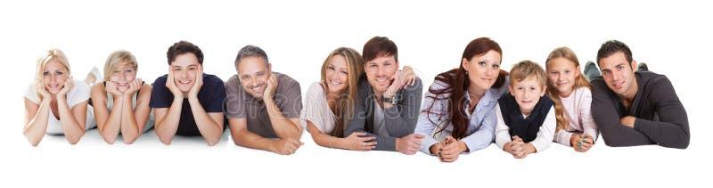 Giovani felici immagini stock libere da diritti