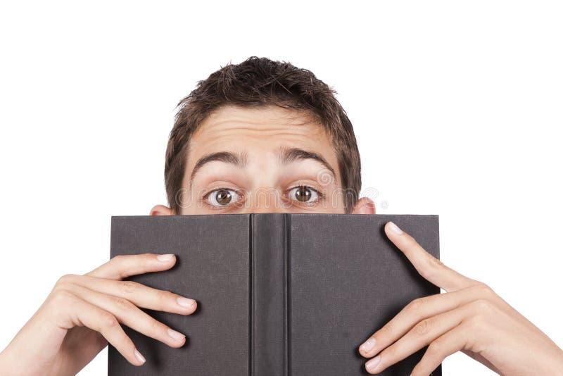 Giovani libri adulti fotografia stock