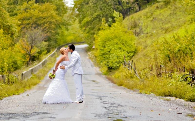 Giovani marito e moglie fotografia stock libera da diritti
