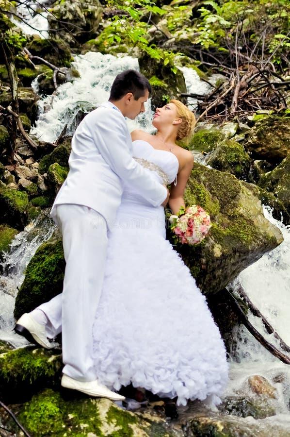 Giovani marito e moglie immagini stock