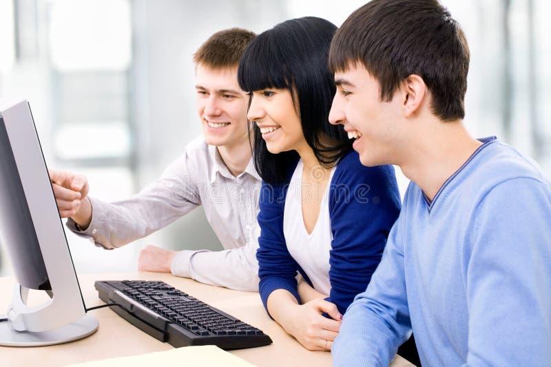 Giovani studenti immagine stock libera da diritti