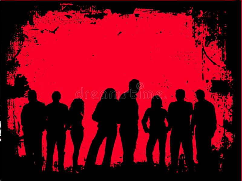 Gioventù di Grunge royalty illustrazione gratis