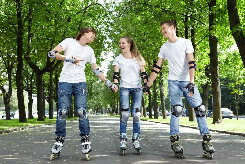 Gioventù felice fotografia stock