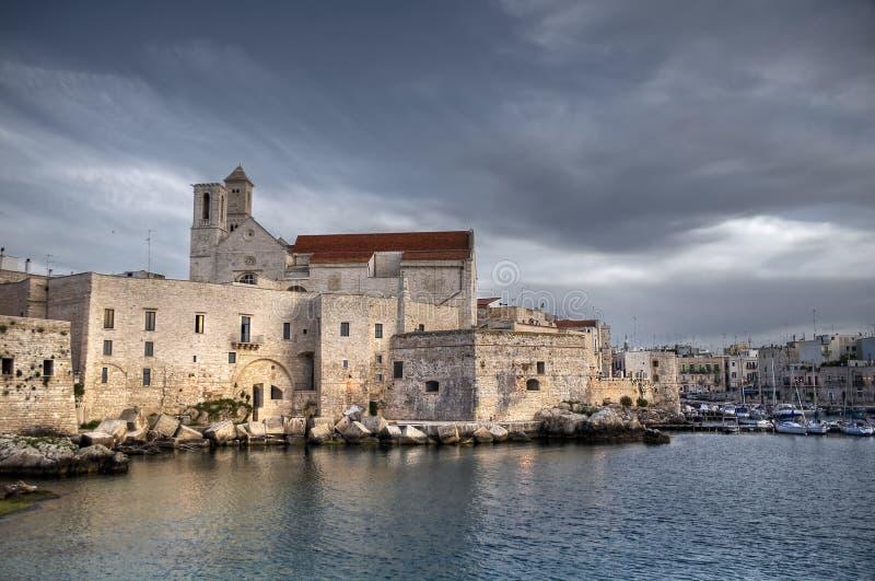 Giovinazzo Cathedral. Apulia. stock photos