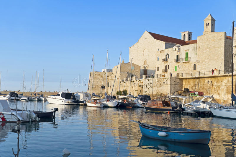 Download Giovinazzo Touristic Port. Apulia. Stock Photo - Image: 14368026