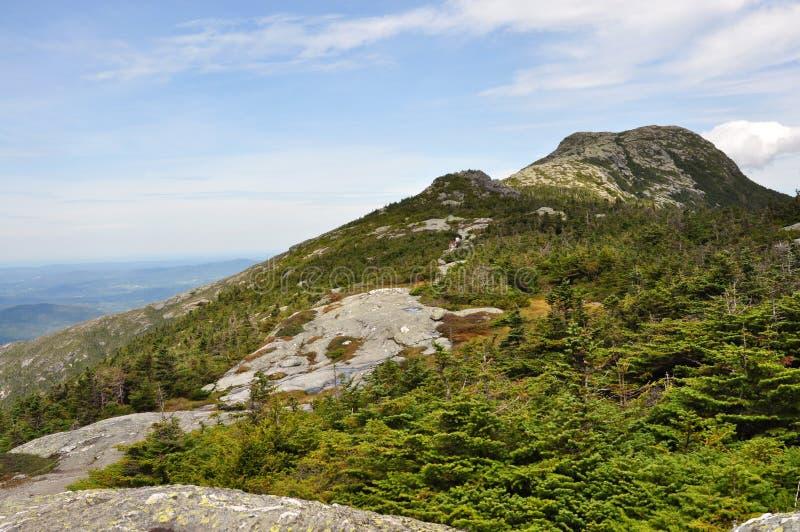 Gipfel der Montierung Mansfield, das höchste in Vermont stockfotos