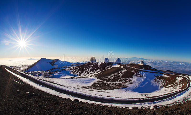 Gipfel Mauna Kea stockfoto