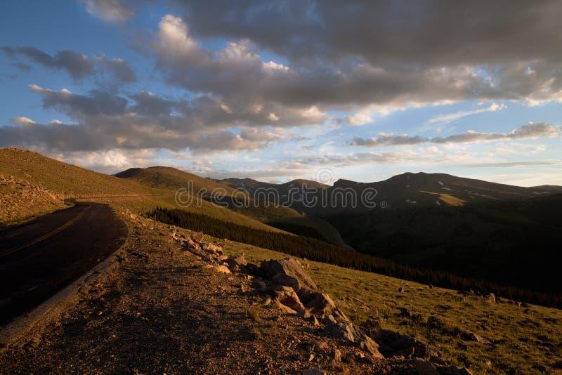 Gipfel Mt-Evans stockfoto