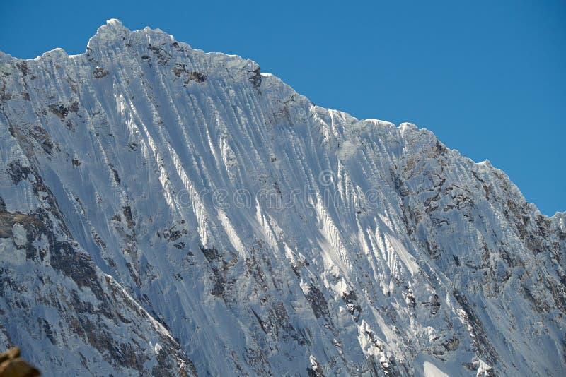 Gipfel Nevado Ocshapalca lizenzfreie stockfotografie