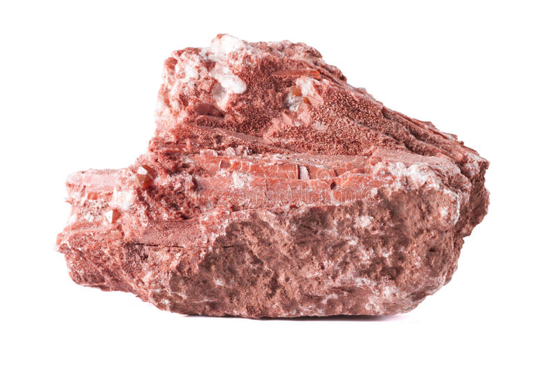 Gips-Mineral stockfoto