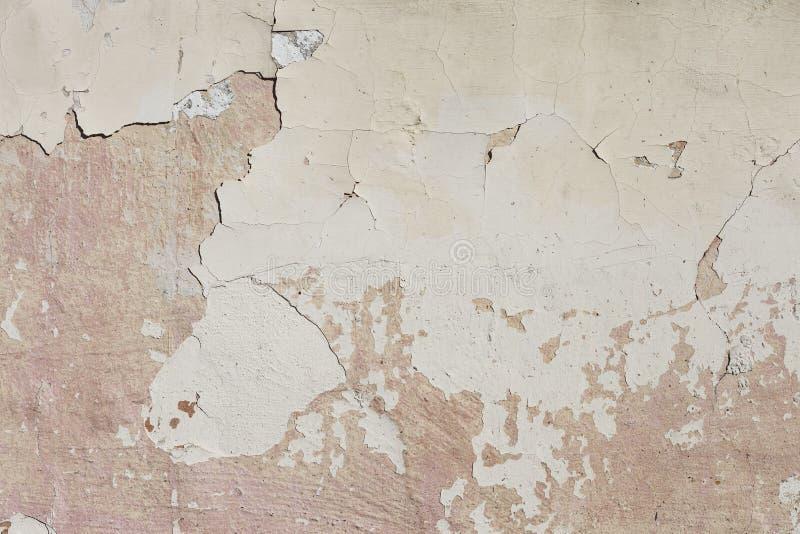 Gipswandbeschaffenheit Gealterte Kleberwandbeschaffenheit lizenzfreies stockfoto