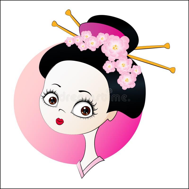 Gir japonés libre illustration