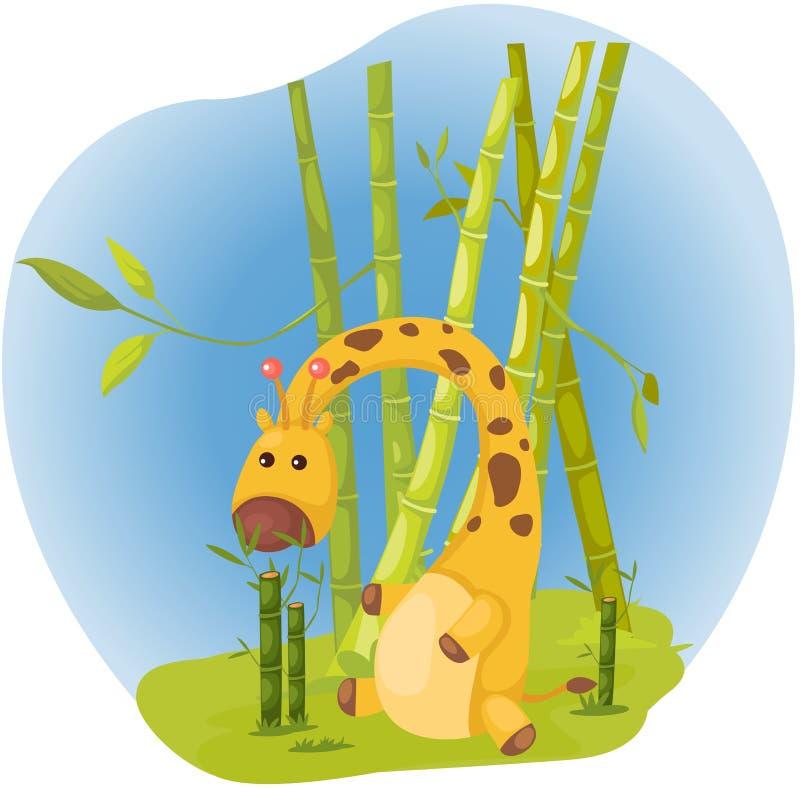 Girafa ilustração do vetor