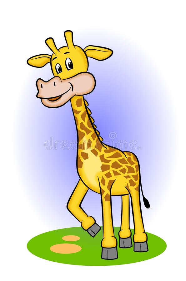 Giraffa illustrazione di stock