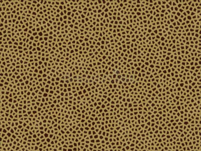 Giraffa animale di struttura della pelliccia illustrazione vettoriale