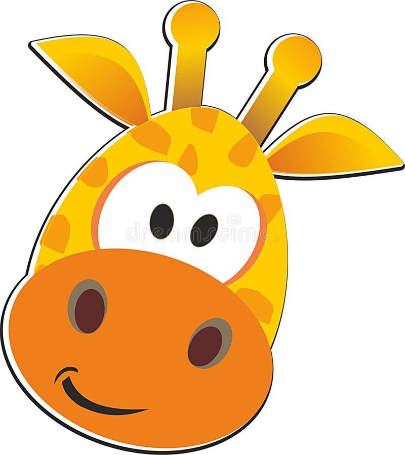 Giraffe κίτρινο πορτοκάλι absrtaction στοκ εικόνες με δικαίωμα ελεύθερης χρήσης