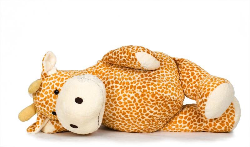 giraffe παιχνίδι στοκ φωτογραφία