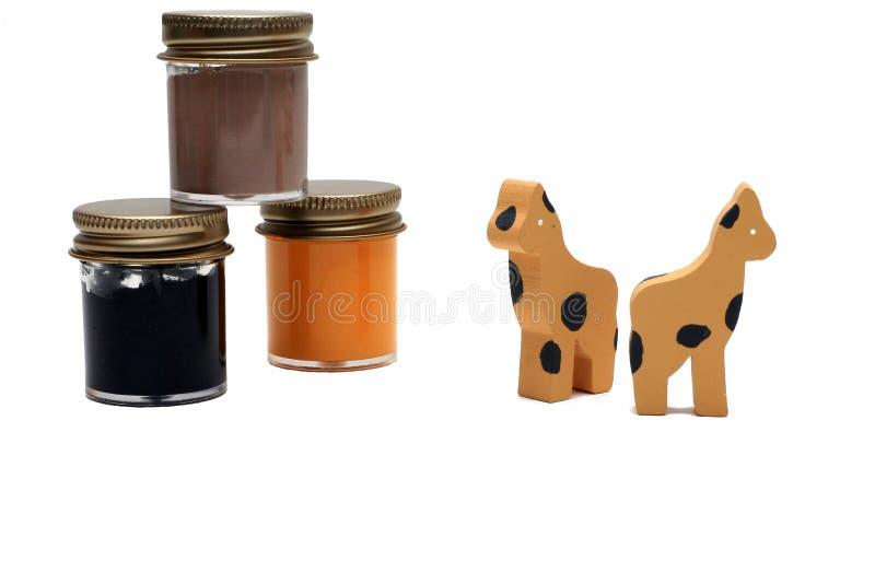 giraffe τεχνών στοκ εικόνες