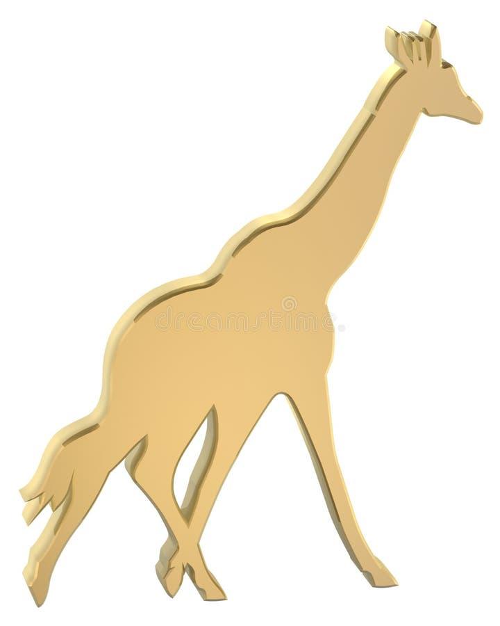 Giraffe, illustration libre de droits