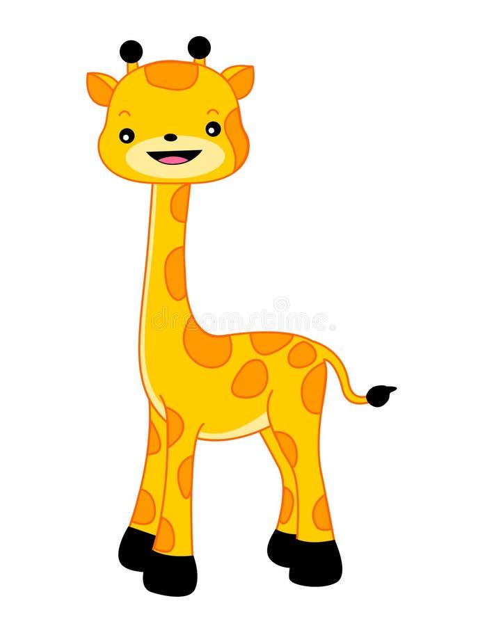 Giraffe illustration stock