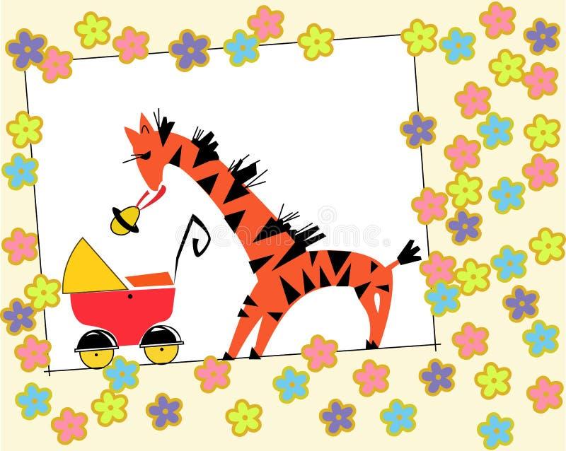 giraffe ελεύθερη απεικόνιση δικαιώματος