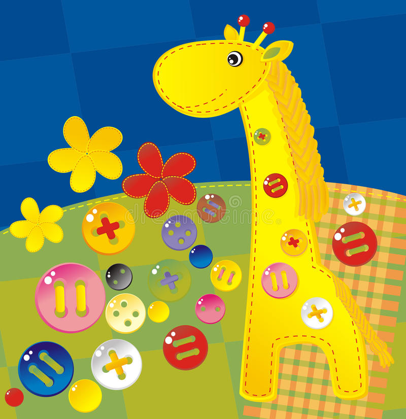 Giraffe illustration de vecteur