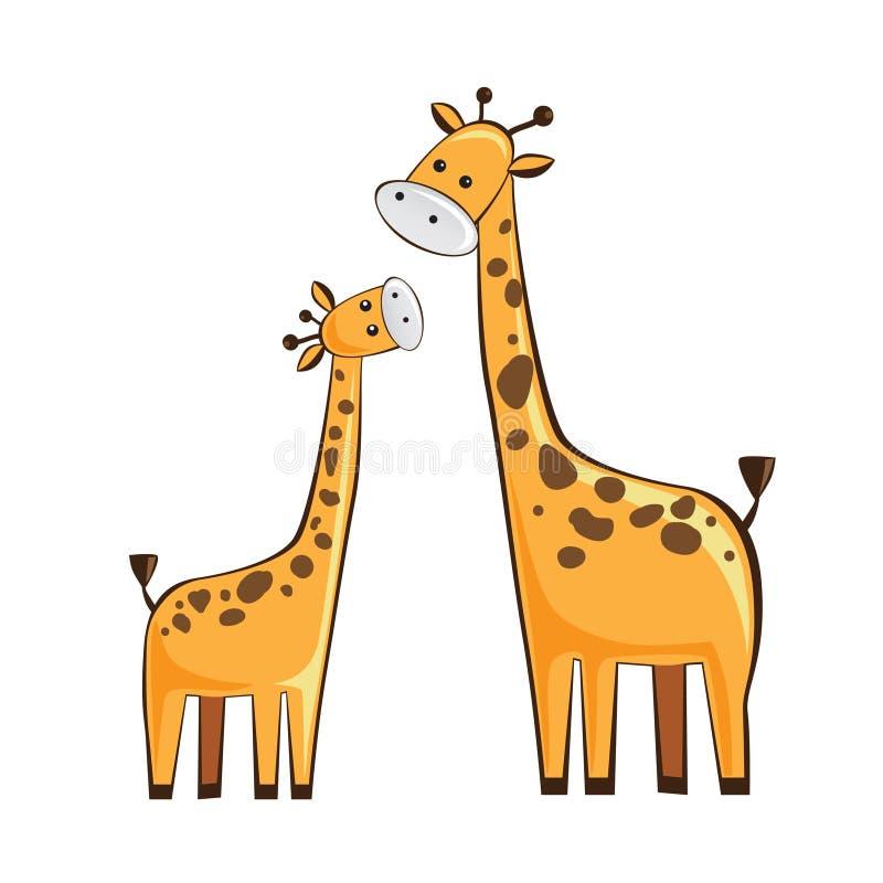 Download Giraffe stock vector. Image of card, children, giraffe - 28586738
