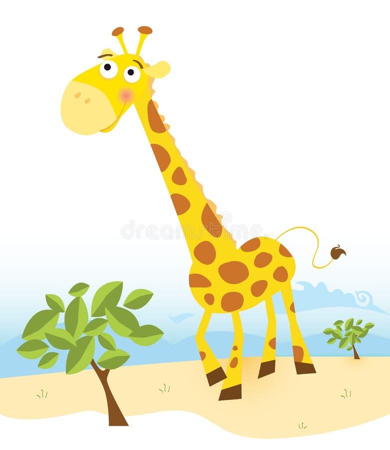 Giraffe royalty free illustration