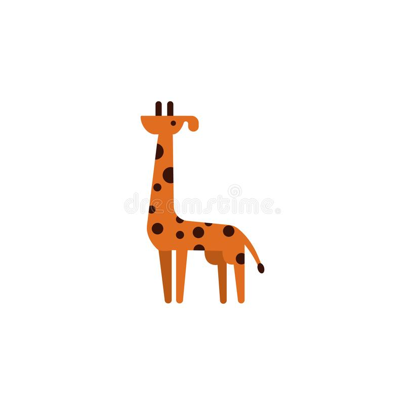 Giraffe, Africa, animal icon. Element of color African safari icon. Premium quality graphic design icon. Signs and symbols. Collection icon for websites, web vector illustration