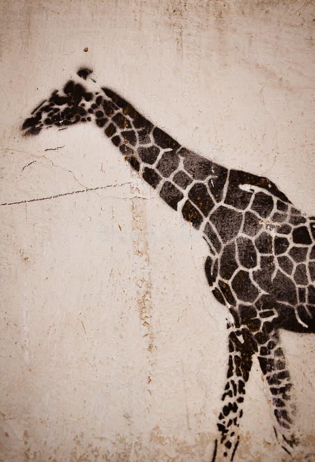 Download Giraffe graffiti stock illustration. Illustration of creative - 30601471