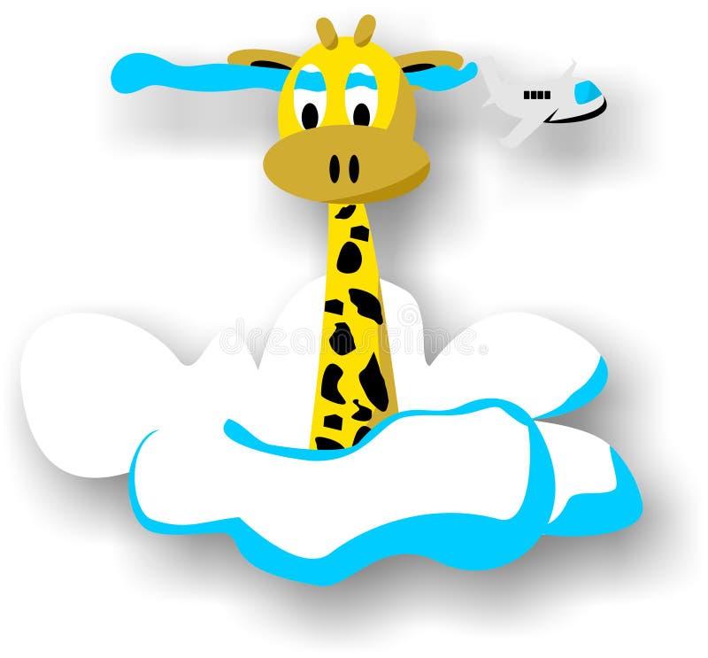 Giraffe mignonne illustration libre de droits