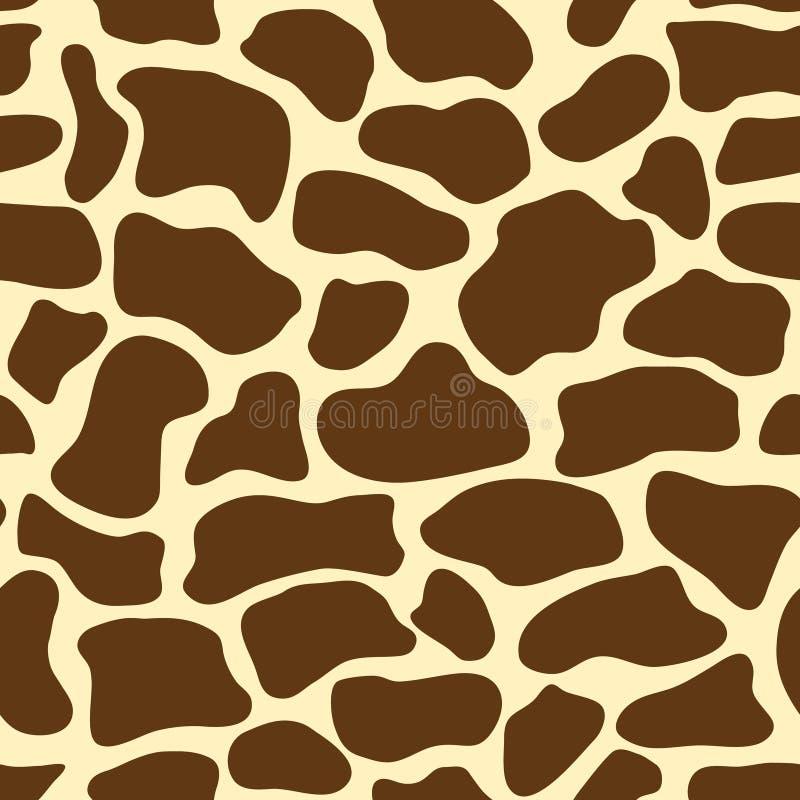 Giraffe pattern stock illustration