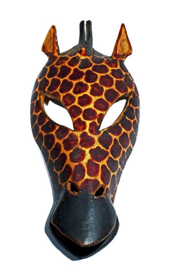 Giraffe-Schablone stockfoto